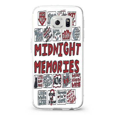 1D Midnight Memories Collage Lyrics
