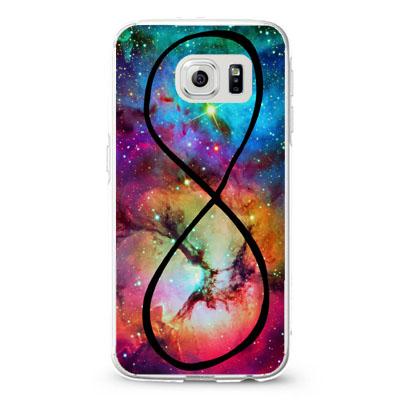 A Infinity Purple Galaxy Nebula