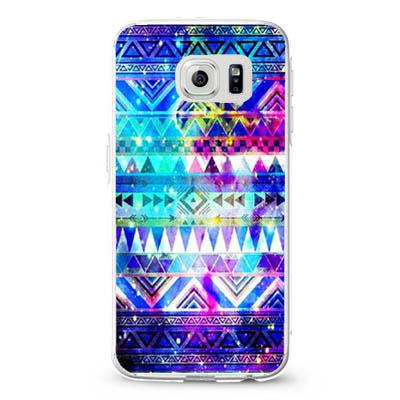 Aztec in Galaxy Nebula Space