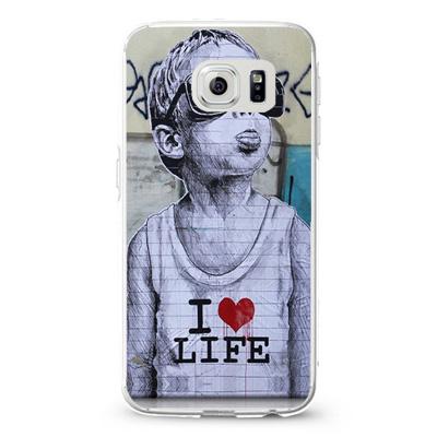 Banksy Baby I Love life