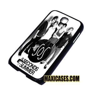 5 second summer with logo samsung galaxy S3,S4,S5,S6 cases
