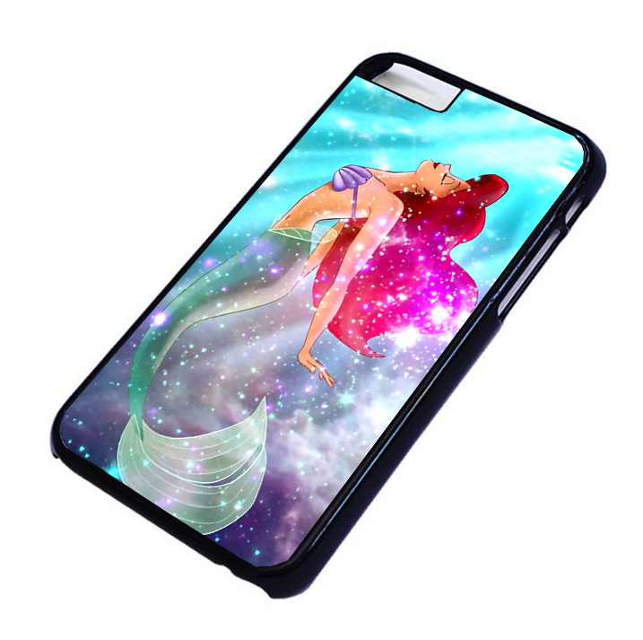 Ariel the little mermaid galaxy For iPhone and samsung galaxy cases