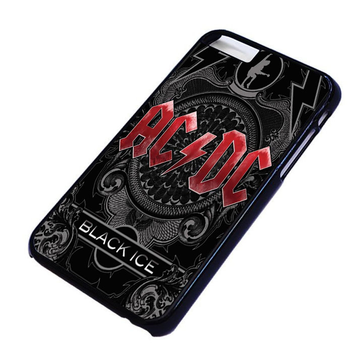 ACDC black ice For iPhone and samsung galaxy S3,S4,S5,S6 cases