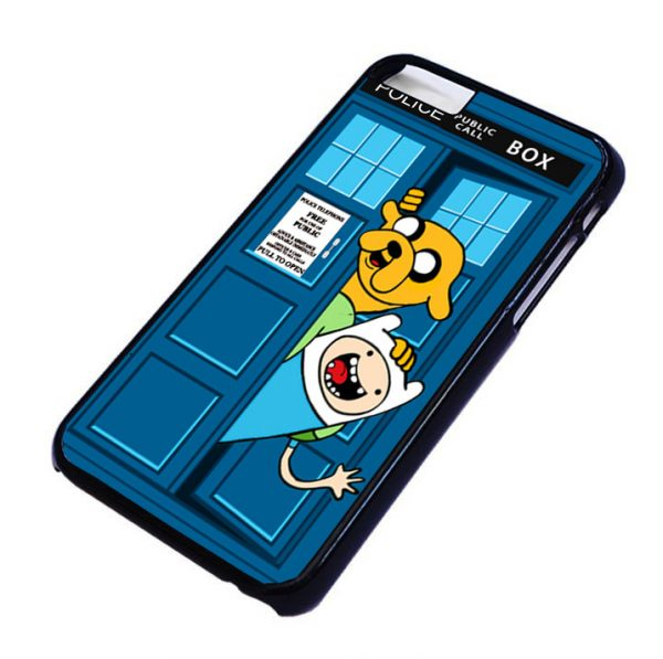 adventure time public police box For iPhone and samsung galaxy S3, S4, S5, S6 cases