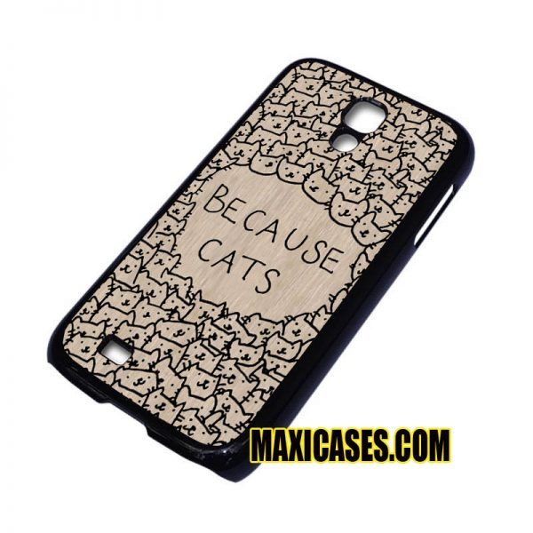 because cats samsung galaxy S3,S4,S5,S6 cases