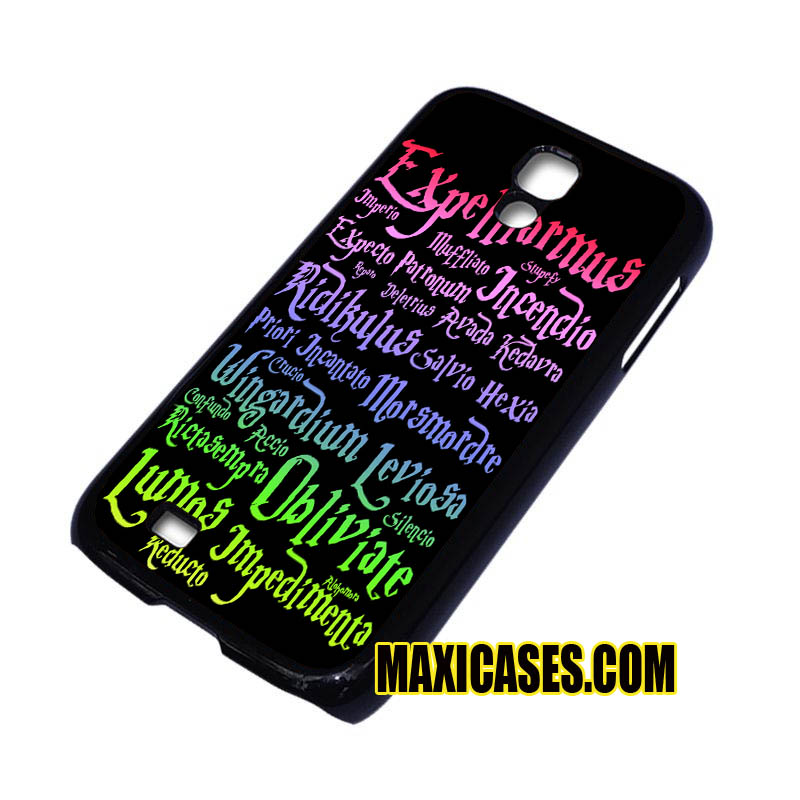 harry potter magic spelling samsung galaxy S3,S4,S5,S6 cases