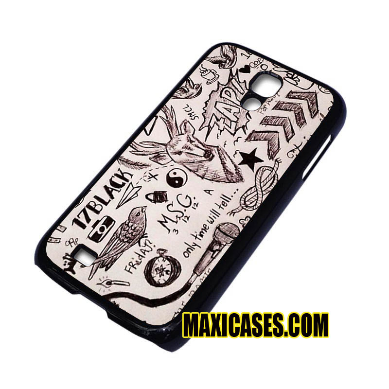 1D one direction tattoos samsung galaxy S3,S4,S5,S6 cases