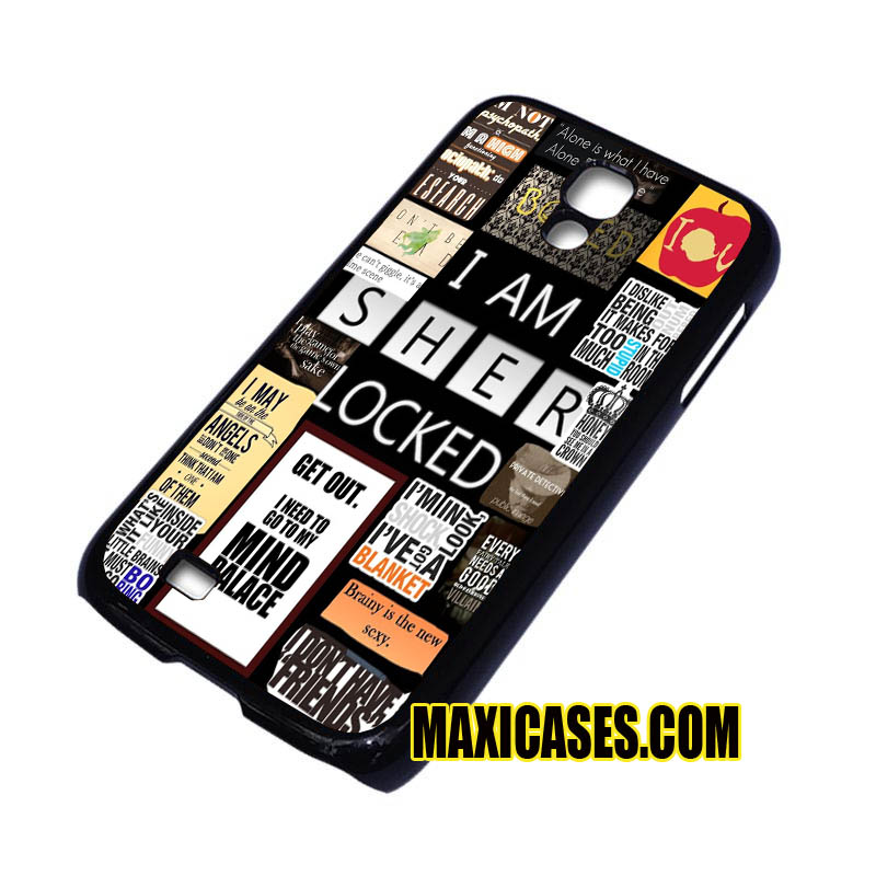 I am sherlocked collage iPhone 4, iPhone 5, iPhone 6 cases