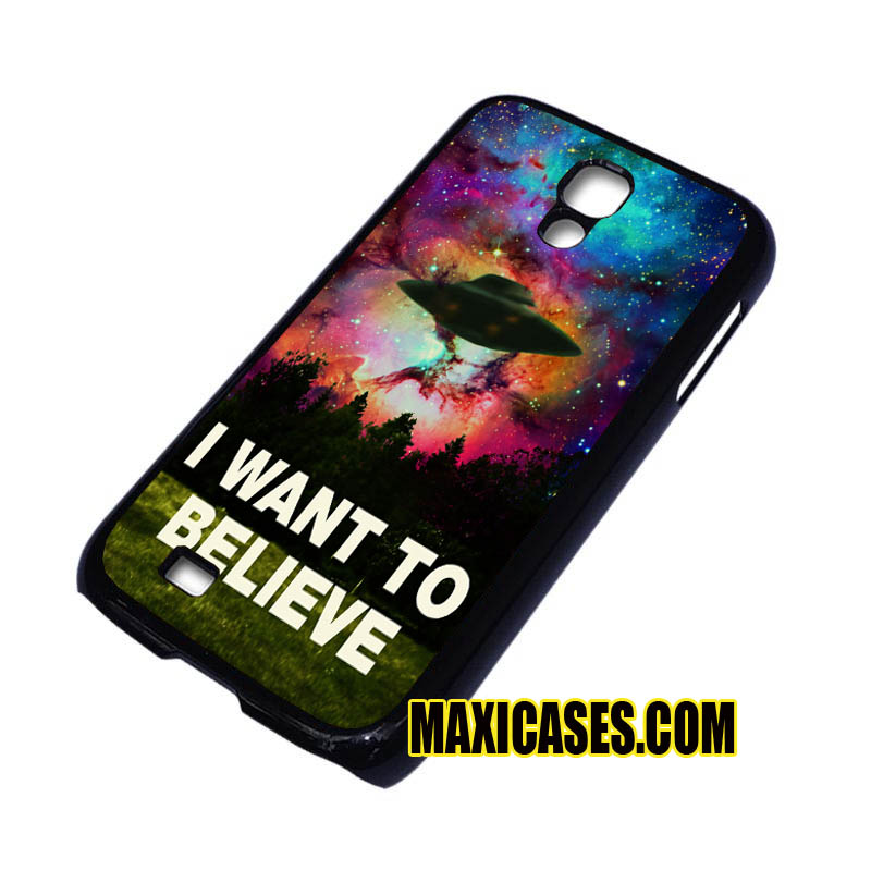 I want to believe x-file galaxy iPhone 4, iPhone 5, iPhone 6 cases