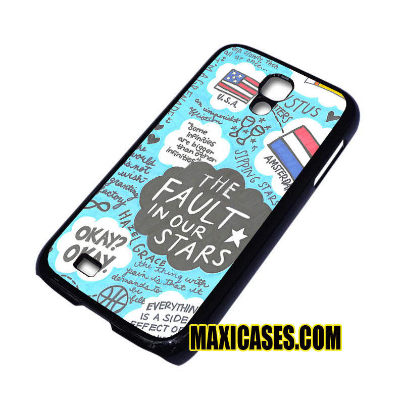 The Fault in Our Stars Quotes iPhone 4, iPhone 5, iPhone 6 cases