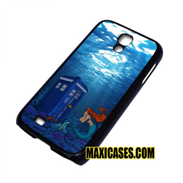 Ariel the little mermaid tardis samsung galaxy S3,S4,S5,S6 cases