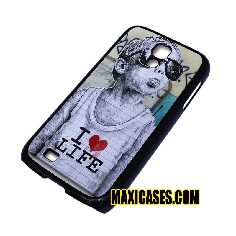 banksy I love you life samsung galaxy S3,S4,S5,S6 cases