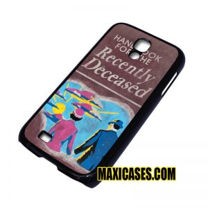 beetlejuice nandbook for recently deceased samsung galaxy S3,S4,S5,S6 cases
