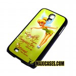 disney tikerbell quote samsung galaxy S3,S4,S5,S6 cases