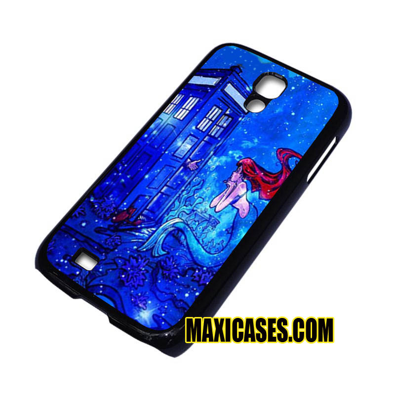 doctor who meets disney tardis ariel little mermaid samsung galaxy S3,S4,S5,S6 cases