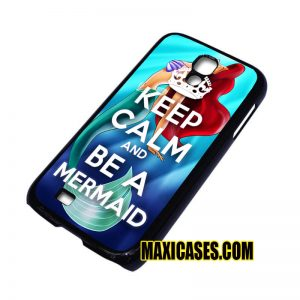 keep calm be a mermaid iPhone 4, iPhone 5, iPhone 6 cases