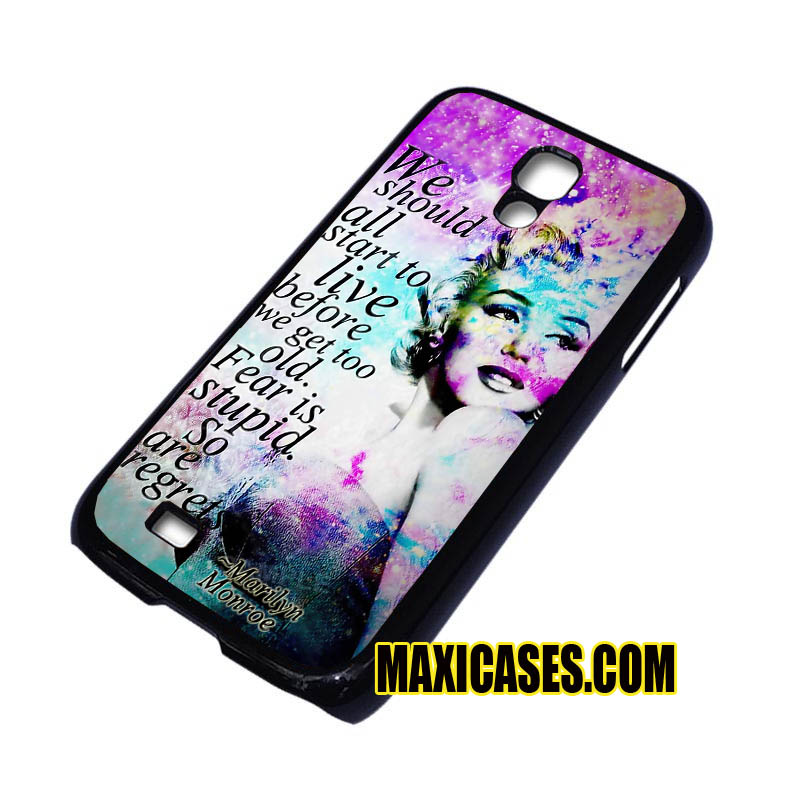 Iphone 5 Cases Marilyn Monroe Quotes marilyn monroe galaxy ...
