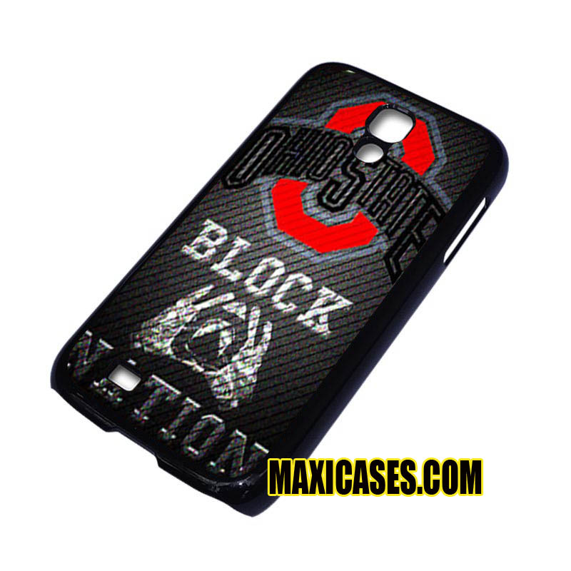 ohio state block nation iPhone 4, iPhone 5, iPhone 6 cases