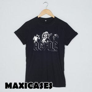 ACDC Black in Black T-shirt Men, Women and Youth