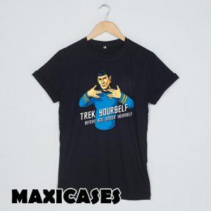 Trek Yourself Star Trek T-shirt Men, Women and Youth
