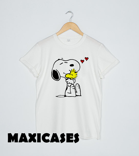 4356a0c50 hug Peanuts Snoopy T-shirt Men, Women and Youth