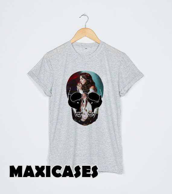 lana del rey skull T-shirt Men, Women and Youth