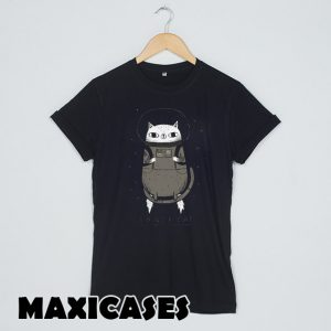Space Cat T-shirt Men, Women and Youth