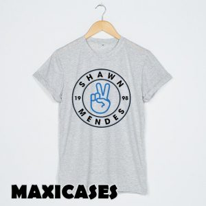 Shawn Mendes logo peace T-shirt Men, Women and Youth