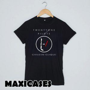 Twenty One Pilots logo T-shirt Men, Women and Youth