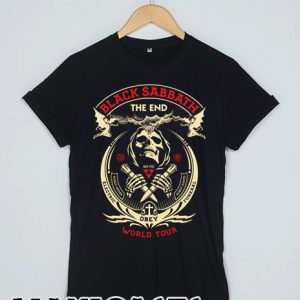 Black Sabbath the end T-shirt Men, Women and Youth