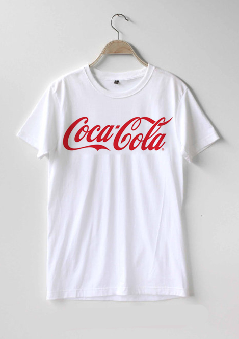 dd5dbdb640da Coca – Cola logo T-shirt Men, Women and Youth