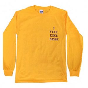 I Feel Like Kobe Sweatshirt Sweater Unisex Adults size S to 2XL
