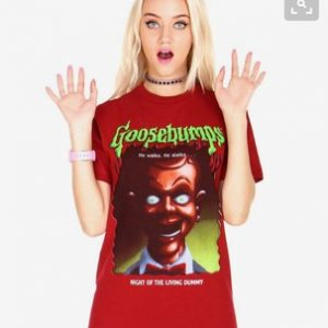 Goosebumps - Night of The Living Dummy T-shirt Men, Women and Youth