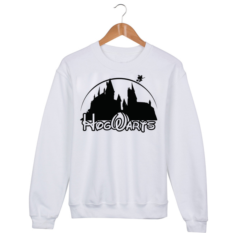 Hogwarts Disney logo Sweatshirt Sweater Unisex Adults size S to 2XL