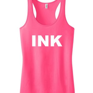 INK LOGO tank top men and women Adult