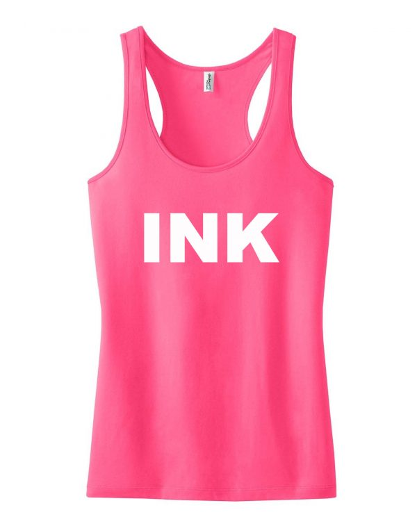 INK LOGO tank top men and women Adult