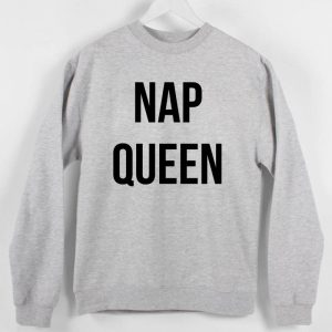 Nap queen Sweatshirt Sweater Unisex Adults size S to 2XL