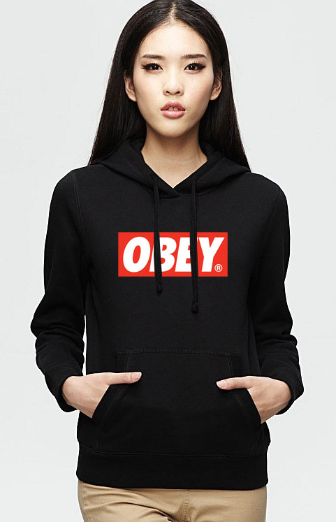 Obey logo Hoodie Unisex Adult size S - 2XL