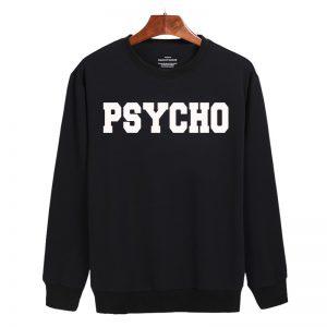 PSYCHO logo Sweatshirt Sweater Unisex Adults size S to 2XL