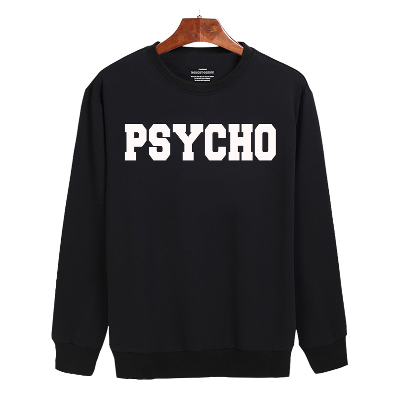 PSYCHO logo Sweatshirt Sweater Unisex Adults size S to 2XL