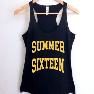 Rihanna summer sixteen tank top men and women Adult