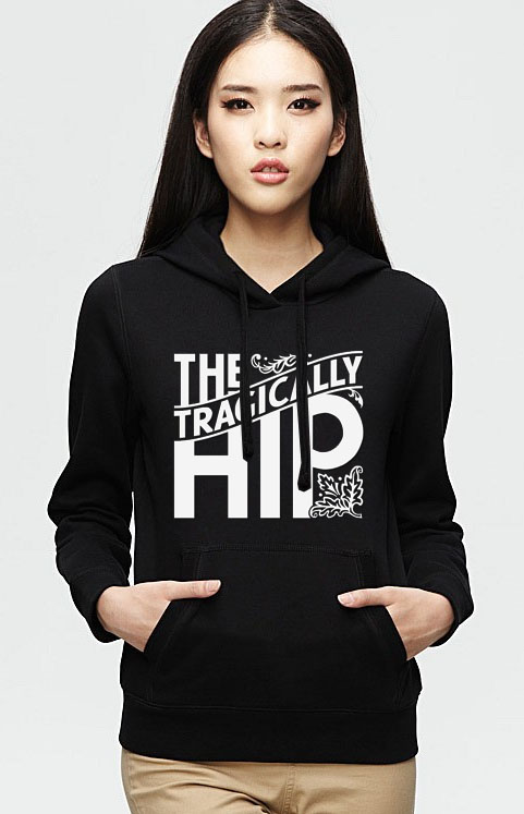 The Tragically Hip logo Hoodie Unisex Adult size S - 2XL