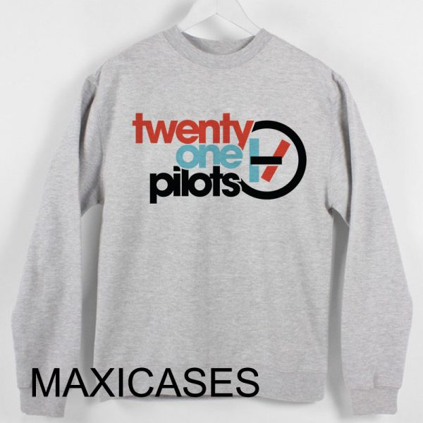 Twenty One Pilots logo Sweatshirt Sweater Unisex Adults size S to 2XL