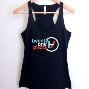 Twenty One Pilots logo tank top men and women Adult