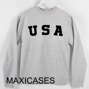 USA logo Sweatshirt Sweater Unisex Adults size S to 2XL