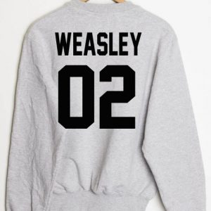Weasley Sweatshirt Sweater Unisex Adults size S to 2XL