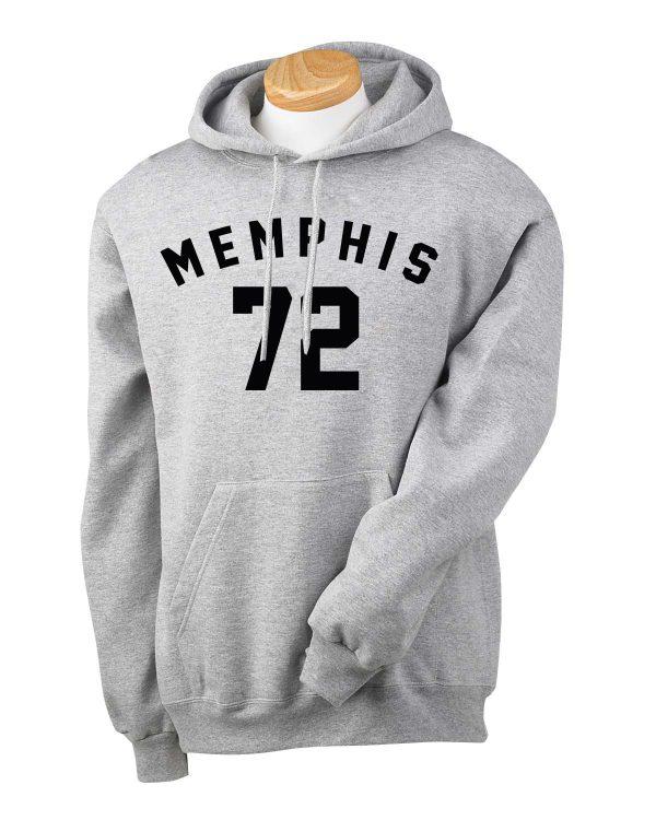 memphis 72 Hoodie Unisex Adult size S - 2XL