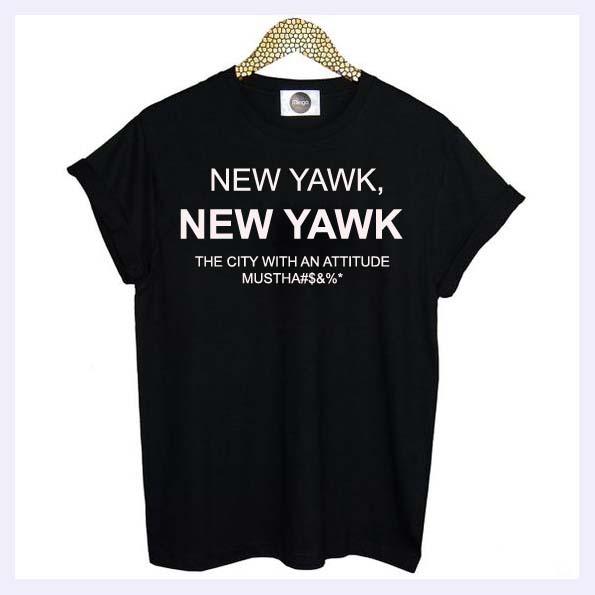 New Yawk T-shirt Men, Women and Youth