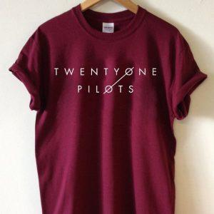 Twenty one pilots logo T-shirt Men Women and Youth