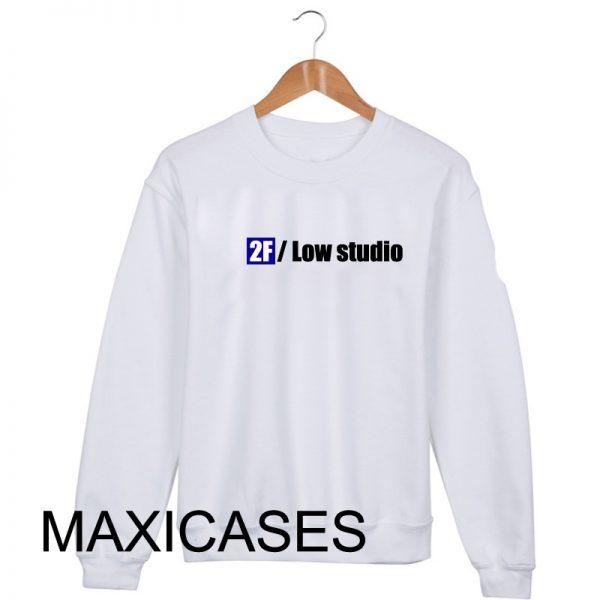 2F low studio Sweatshirt Sweater Unisex Adults size S to 2XL